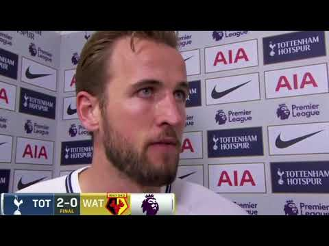 harry kane interview as he speaks on golden boot race and top 4 finish