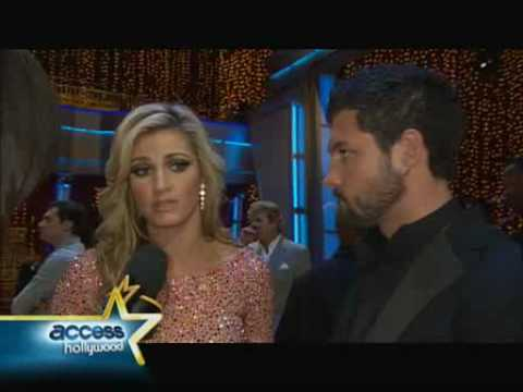 Erin Andrews & Maks on The View