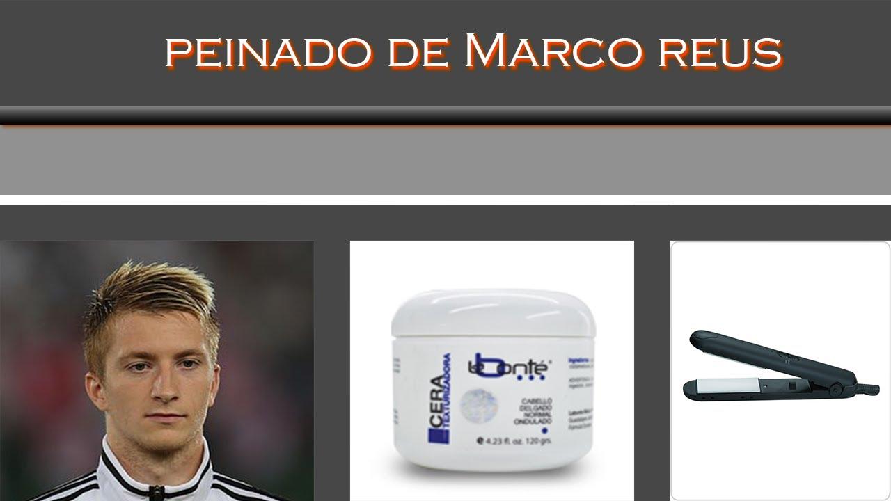 Peinado de hombre,Hairstyle-Marco Reus Borussia Dortmund - YouTube