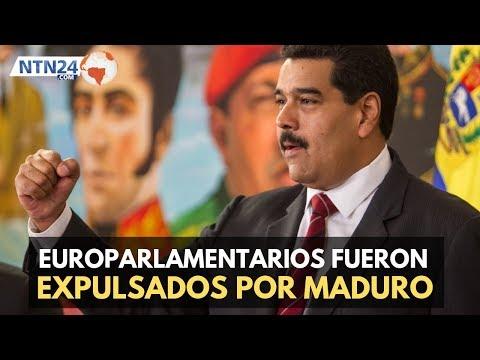 Maduro expulsa de Venezuela a europarlamentarios
