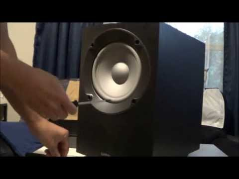 infinity entra sub. how to unmount the plate amplifier and speaker from infinity beta subwoofer entra sub