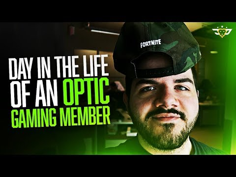 A DAY IN THE LIFE OF AN OPTIC GAMING MEMBER!