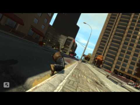 GTA4: The Police Have Aimbot