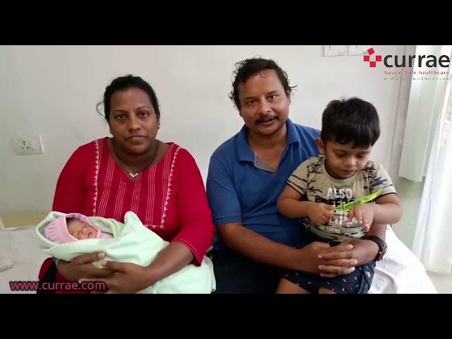 Pt. Sangeeta Devrajan - Birthing done by Dr Sangeeta Shetty | Currae Hospitals