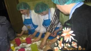 открытый урок по СБО Пельмени   украшение уральской кухни