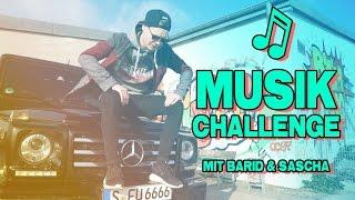 MUSIK CHALLENGE | gegen Barid & Sascha | inscope21