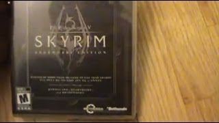 Unboxing (Abriendo) The Elder Scrolls V Skyrim Legendary Edition PS3