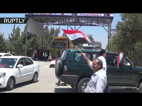 Highway to peace: Homs-Hama highway re-opened for the first time in 7 years