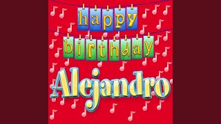 Cover images Happy Birthday Alejandro (Personalized)