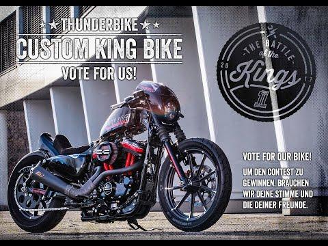 THUNDERBIKE Harley-Davidson CUSTOM KING BIKE 2017