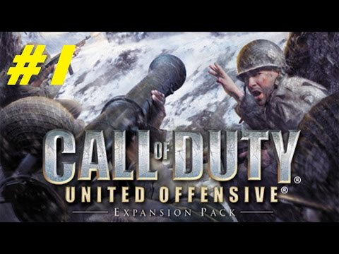 Call Of Duty: United Offensive Gameplay.Part 1 (CROATIAN & ENGLISH COMMENTARY)