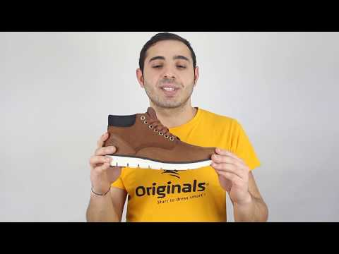 trabajo patrimonio Creación  Timberland Bradstreet Chukka Leather - YouTube