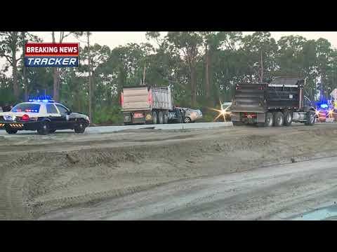 Fatal crash involving dump truck in Lehigh Acres