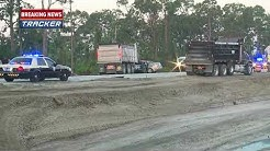 Fatal crash involving dump truck in Lehigh Acres