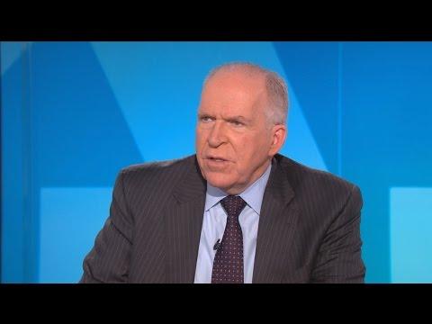 CIA director John Brennan on U.S. involvement in Syrian war
