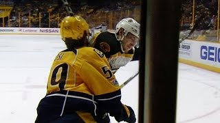Gotta See It: Blidh ejected for going high on Josi