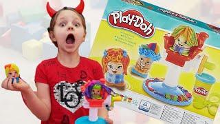 Парикмахерская с плей до, Алиса играет с Play Do /Лисенок Алисенок