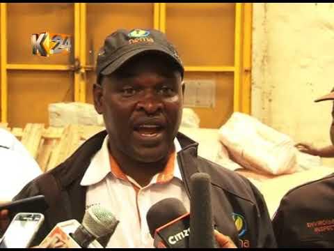 Tani zaidi ya 75 za plastiki zimenaswa eneo la viwandani Nairobi