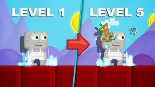 Upgrading Ancestral Tesseract of Dimensions to Level 5!! | Growtopia