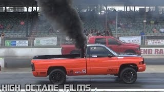 TS PERFORMANCE OUTLAW DIESEL DRAG RACING 2015