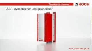 Vorstellung DES und DEV - Energieeffizienz im Maschinenbau - Michael Koch GmbH