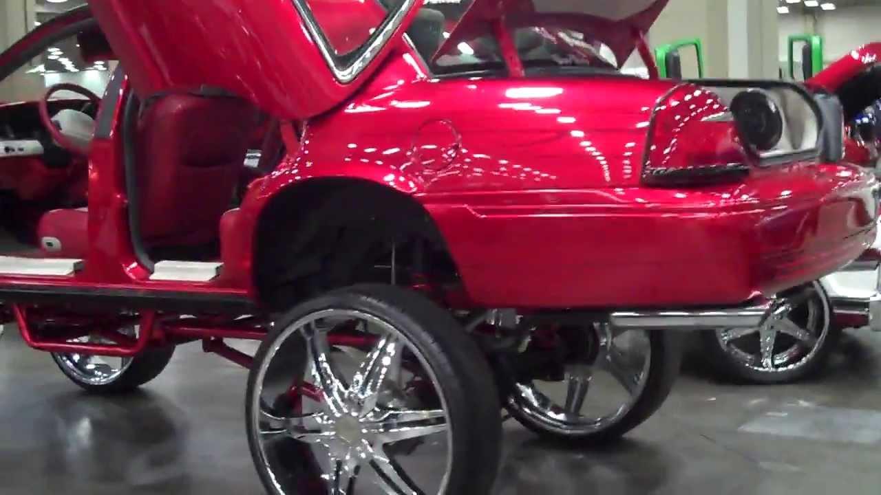 Dallas Car Show >> Dallas Dub Show 2k13 - Texas Swangas - YouTube