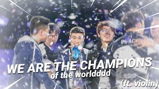 WE ARE THE CHAMPIONS - Pobelter