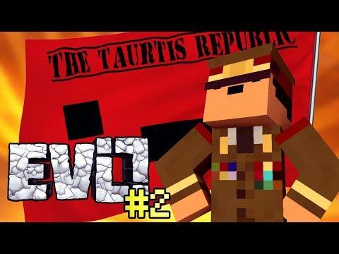 Join The Taurtis Republic! - Minecraft Evo Episode 2