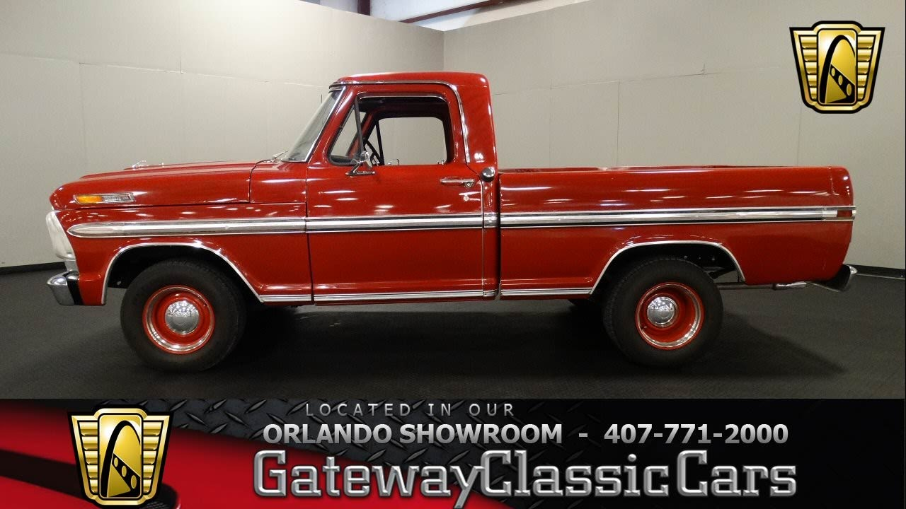 1968 Ford F100 Shortbed Pickup