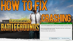 [PC] PUBG - Fix Crash on Launch and Exit to Lobby