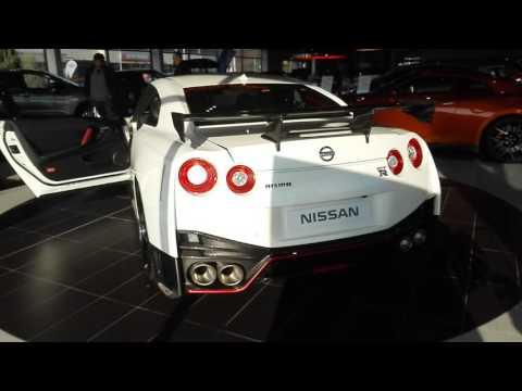2017 Nissan GT-R Nismo - start up, exhaust sound