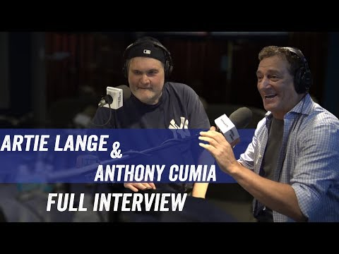 Anthony Cumia & Artie Lange - Returning to Sirius, Radio, Be