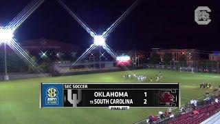 Women's Soccer: South Carolina def. Oklahoma, 2-1