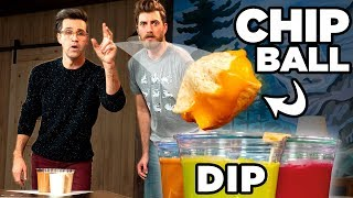 Chip Dip Pong - FOOD SPORTS