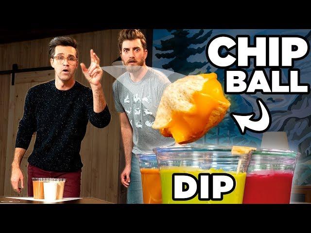 Chip Dip Pong - FOOD SPORTS