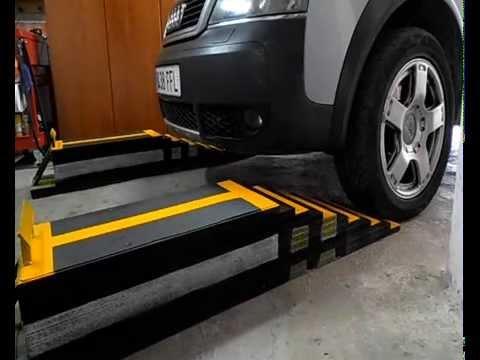 Rampas para mantenimiento del coche youtube - Garajes para coches ...