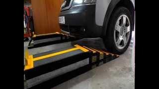 Rampas para mantenimiento  del  coche