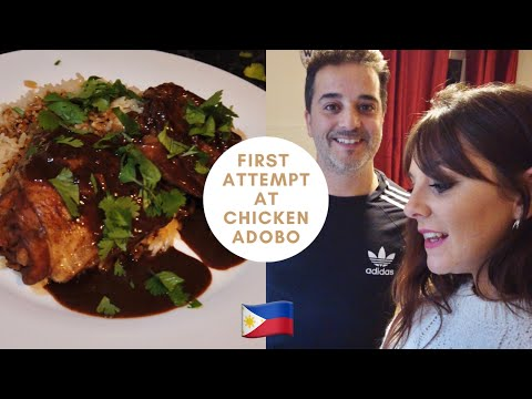 First attempt at Filipino Chicken Adobo!