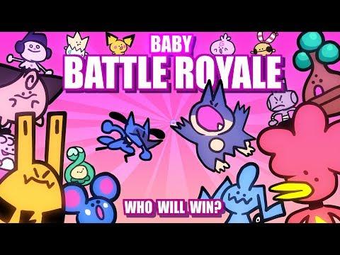 Baby Pokemon Battle Royale ANIMATED (Loud Sound Warning) 🤛👶🤜