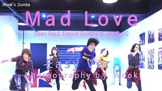 Mad Love ( Easy Ver.)- Sean Paul, David Guetta ft. Becky G / Zumba® / Dance Fitness Choreography
