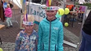 Kunst & Kids tijdens de Ommer Bissingh 2016
