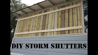 DIY Hurricane Shutters
