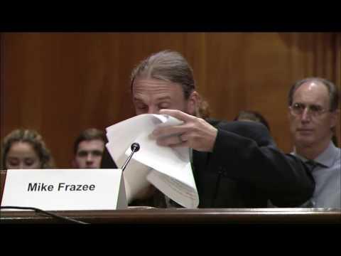 Mike Frazee EPA Water Subcommittee Testimony
