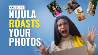 Aunt Nijula Roasts Your Photos | Northeast Aunty reacts to my subscribers' pictures | Chugli TV