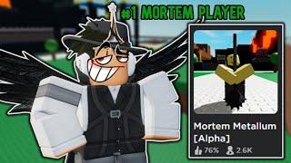 "Becoming the ""Best"" Mortem Metallum Player (Roblox Mortem Metallum)"
