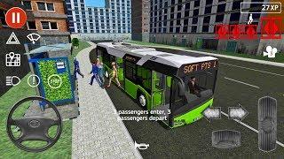 Public Transport Simulator #53 - Bus Games Android IOS gameplay walkthrough