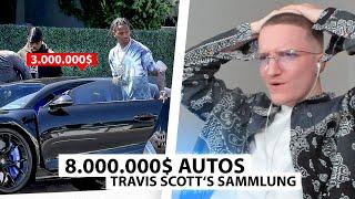 Justin reagiert auf Travis Scott's 8.000.000$ Autosammlung.. | Reaktion