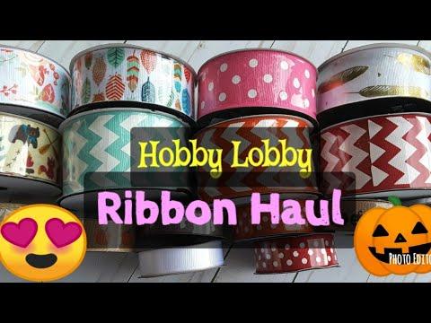 Hobby Lobby Ribbon Haul for High Chair Banners