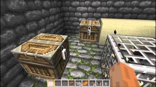 Minecraft 1.3.2 Seed. Dessert Temple, NPC village, Diamonds, Emeralds