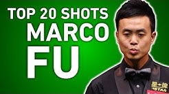 TOP 20 BEST SNOOKER SHOTS | MARCO FU | World Championship 2017
